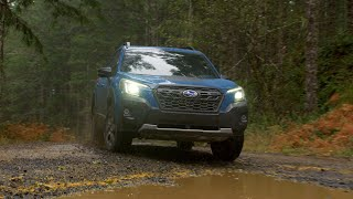 homepage tile video photo for The 2022 Subaru Forester® Wilderness™. Adventure on a deeper level.