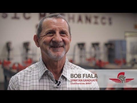 A & P and NDT  Testimonial | Bob Fiala | Spartan College of Aeronautics and Technology