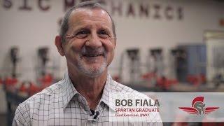 A & P and NDT  Testimonial | Bob Fiala | Spartan College
