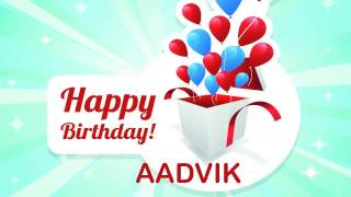 Aadvik   Birthday Wishes