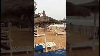 Ivory Coast : Abidjan , chilling at the beach