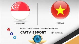 CS:GO - Vietnam vs Singapore BO3  Groupe A Decider World Championships 2016 Asian Qualifier