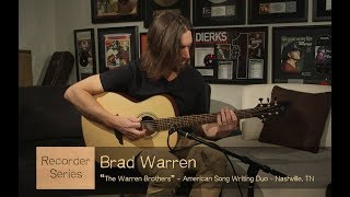 Recorder Acoustic Guitar Ft. The Warren Brothers | Luna Guitars