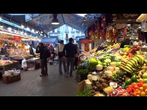 Barcelona, Mercado de La Boqueria - Luty 2015
