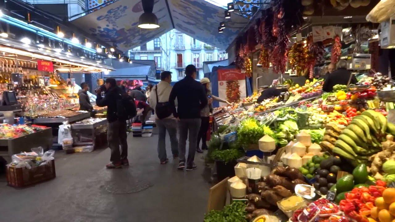 Barcelona mercado de la boqueria luty 2015 youtube - Mercados de segunda mano barcelona ...