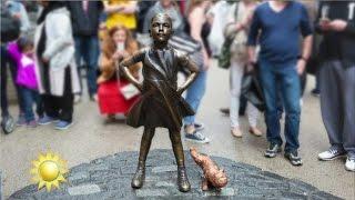 Statybråk får New York-bor att se rött  - Nyhetsmorgon (TV4)