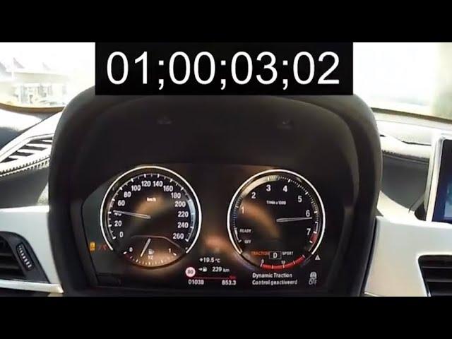 BMW X2 sDrive18i 7-DCT 1.5 3-cilinder 0-100 km/u #1