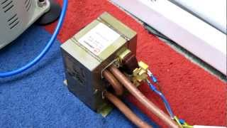 Modified MOT: playing with high current. (Part 1 of 4)