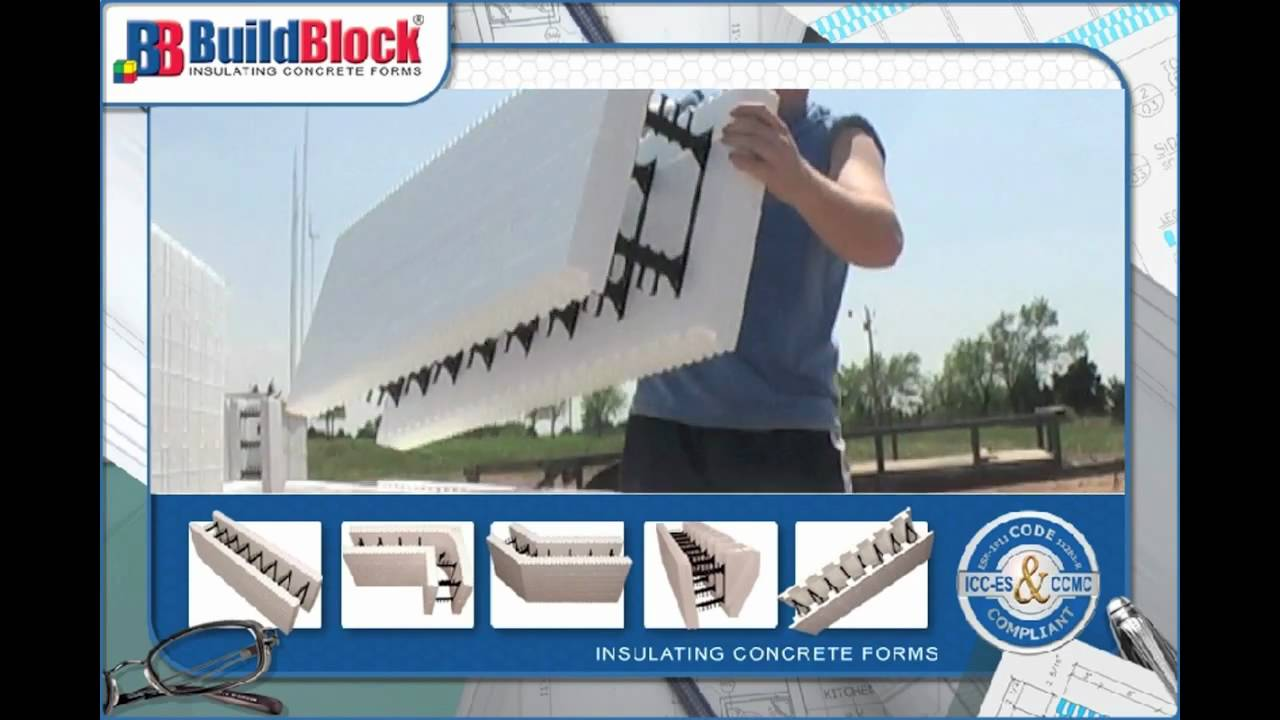 Buildblock 39 s insulating concrete forms vs concrete masonry for Insulated concrete masonry units