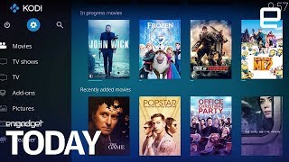 Hollywood strikes against illegal streaming Kodi add-ons | Engadget Today
