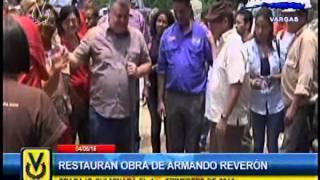 Restauran obra de Armando Reverón en Vargas