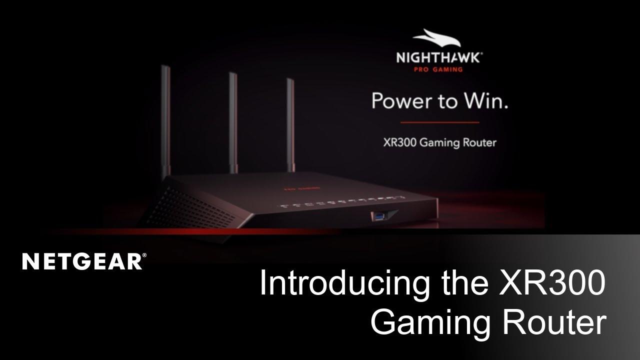 Announcement: NETGEAR launch the Nighthawk Pro Gaming XR300 Router