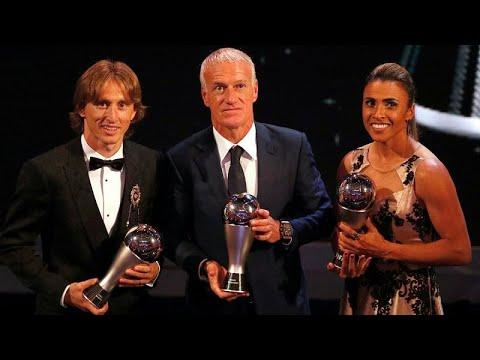 Luka Modric interrompe reinado de Ronaldo e Messi nos prémios FIFA
