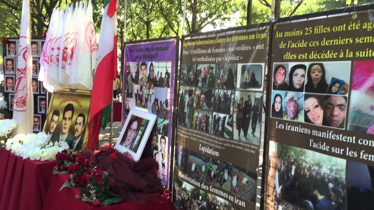 Une journée du souvenir pour l'Iran au cœur de Paris