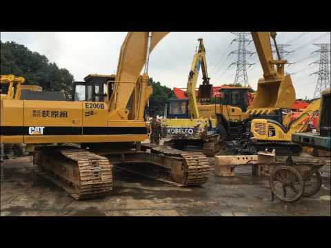 Used Caterpillar E200B Excavator For Sale In Bangladesh; Cheap CAT E200B Excavator