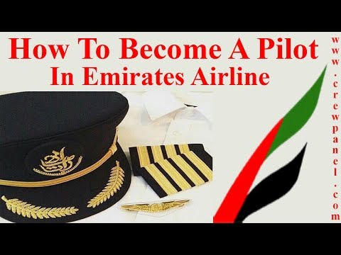 How to become a pilot in Emirates Airline | First Officer jo