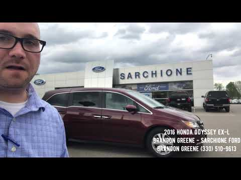 2016 Honda Odyssey EX-L at Sarchione Ford