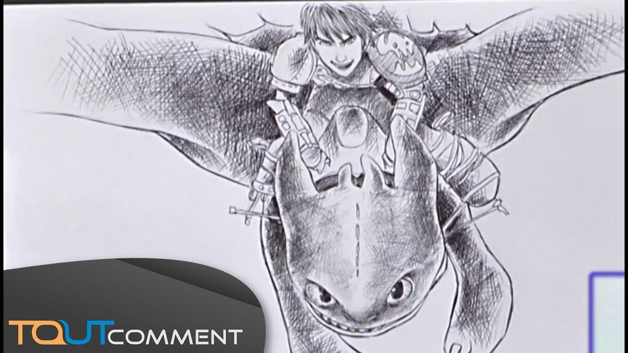 Dessiner Krokmou De Dragon 2