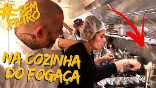 COZINHEI NO RESTAURANTE NOVO DO FOGAÇA | Adriane Galisteu