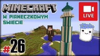 """[Archiwum] Live - Minecraft w Pianeczkowym świecie (15) - [1/2] - """"Pająki samobójcy"""""""