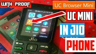UC mini in Jio phone| download UC mini in Jio phone|how to download UC mini in Jio phone|use UC mini