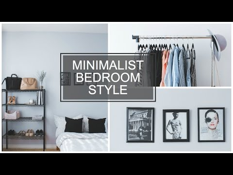 MINIMALIST BEDROOM STYLE YouTube Custom Minimalist Bedroom