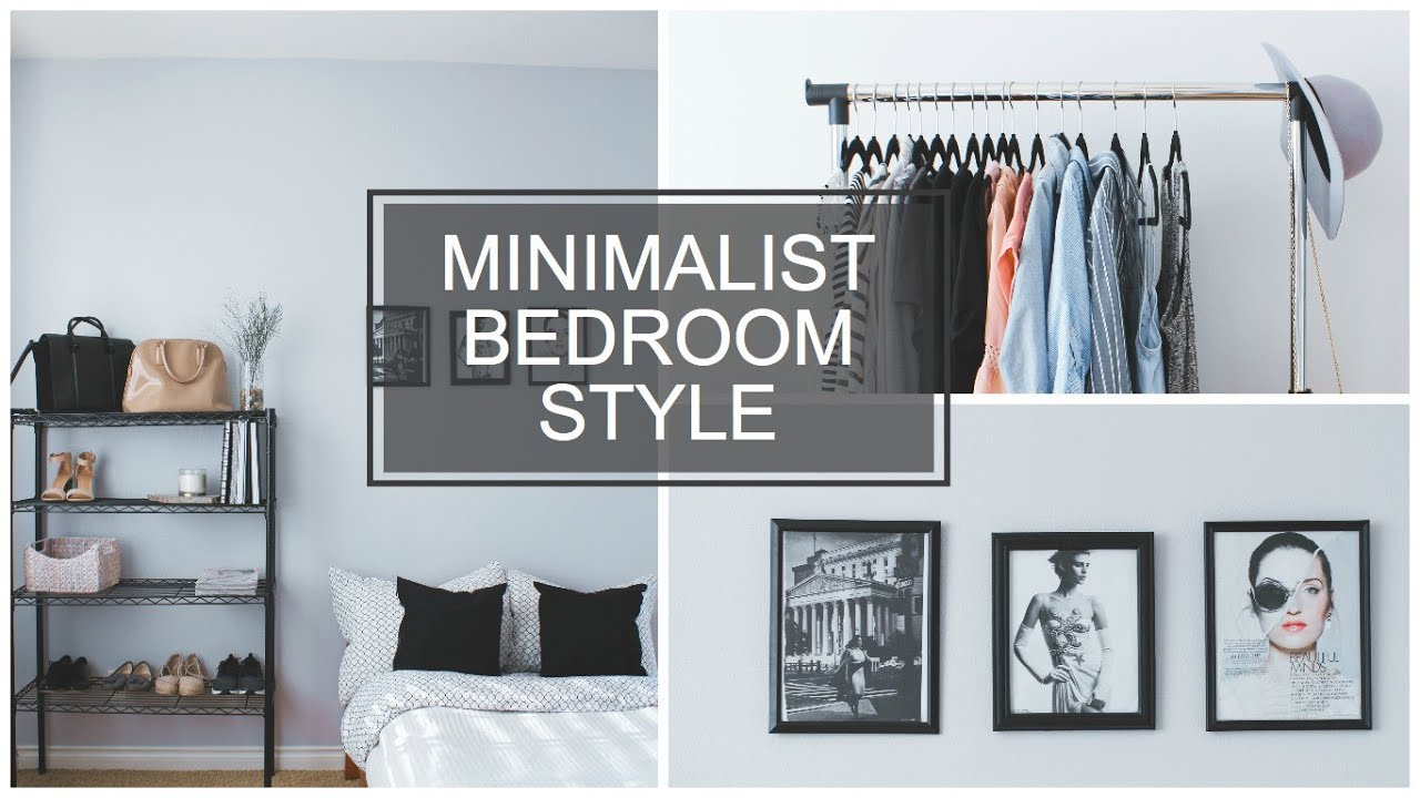 MINIMALIST BEDROOM STYLE - YouTube