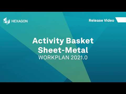 Activity Basket - Sheet-Metal | WORKPLAN 2021.0