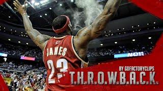 Throwback: Lebron James 2009 Playoffs 1st Round Highlights vs Detroit Pistons (HD 720)
