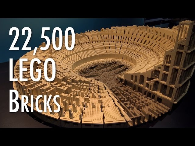 LEGO Roman Colosseum | Museum of Science and Industry