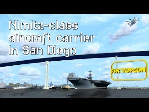 FSX - Nimitz class aircraft carrier in San Diego