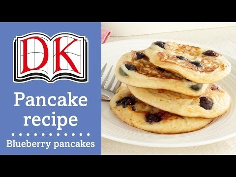 Pancake Recipe: How To Make American Blueberry Pancakes