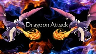 Clash of Clans - Dragoon Attack ★★★ Strategy Ring Attack By lvl3 On TH7 / Th8