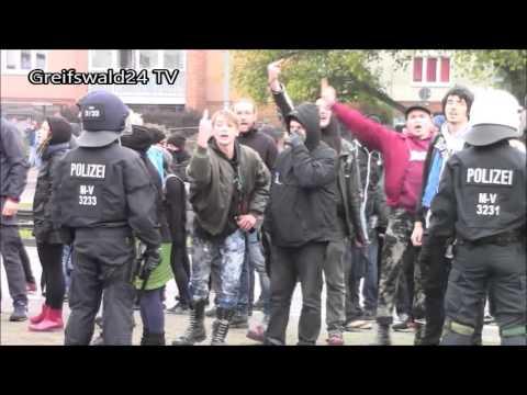 AfD Demo in Rostock 17.10.2015
