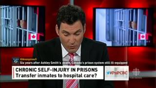 Report on self harm in women's prisons (Canada) CBC September 30, 2013