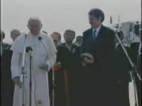 The Great Pop John Paul II visit in Albania -part 2