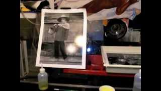 Gerry Yaum In the Darkroom: Secondary Printing Process