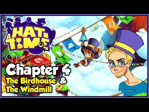 | SKY GOATS AND GIANT EGGS! | A Hat In Time - Chapter 4, The Birdhouse & The Windmill