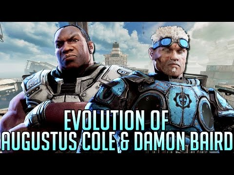Evolution of Baird & Cole | Gears of War 1-4 (2006-2016) | HD