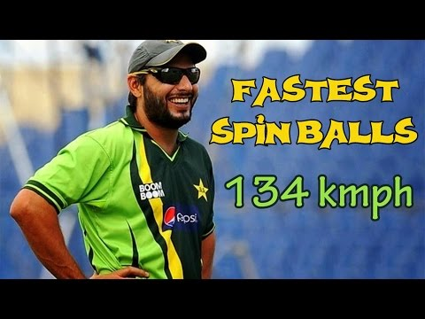 Top 10 Fastest Spin Balls Ever Bowled in Cricket    Spin Vs Pace Bowling