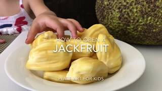 How to open a Jackfruit