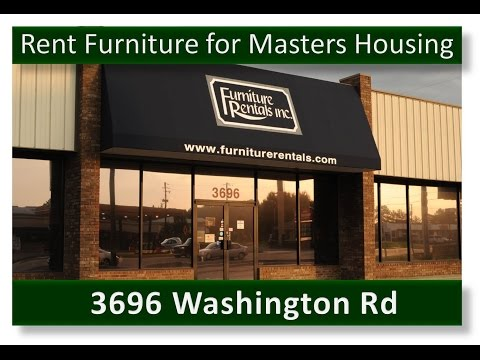 Furnish your Home in Augusta for Masters Housing