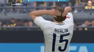 Borussia Dortmund 4:3 Hertha BSC |LIVESTREAM| DFB Pokal Achtelfinale 08.02.2017 FIFA 17