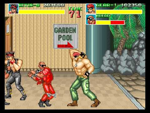 Big Fight: Big Trouble in the Atlantic Ocean 2 player Netplay arcade game