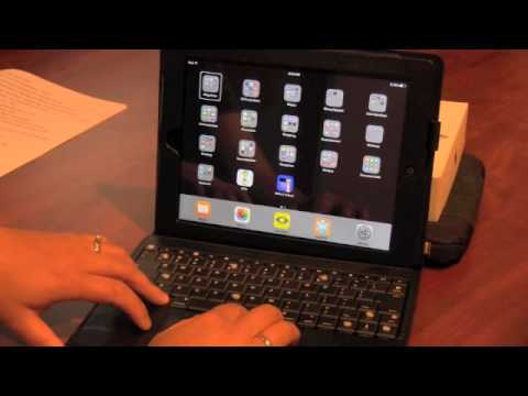 hand gestures with keyboard on ipad youtube. Black Bedroom Furniture Sets. Home Design Ideas