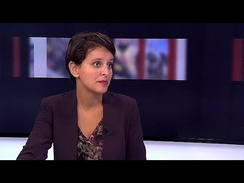 French Education Minister Najat Vallaud Belkacem spells out her hopes for the future of the…