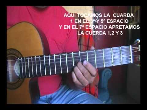 CANTO DE TU AMOR  GUITARRA    (David Cancino)