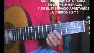 CANTO DE TU AMOR  GUITARRA    (David Cancino)