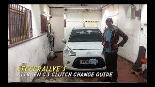 Citroen C3 clutch change quick guide