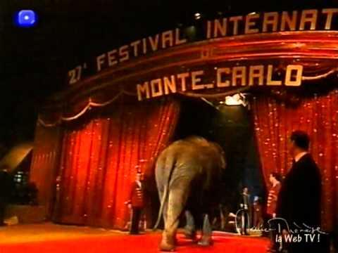 """Marie-Thérèse au """"27e Festival du Cirque de Monte-Carlo"""" (extrait 8)"""